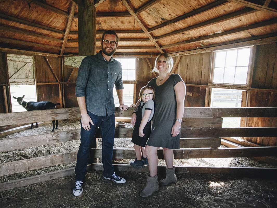 Farmer Familie