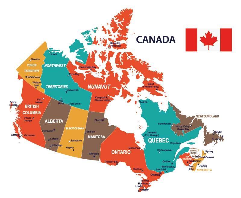 Provinzen Canadas