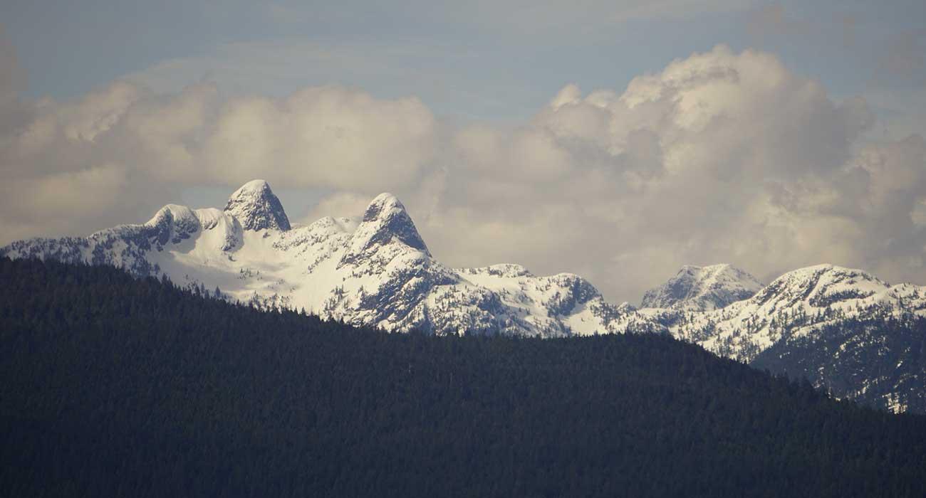 Schneebedeckte Rockies